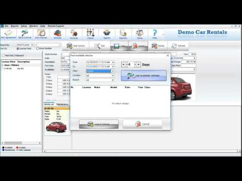 Easy Rent Pro - Start Up Demo - Car Rental Software