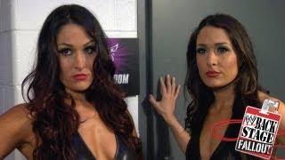 Backstage Fallout - Bellas badmouth AJ - SmackDown - March 16, 2012
