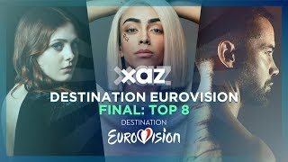 Destination Eurovision 2019 - 🇫🇷 France: Final Top 8