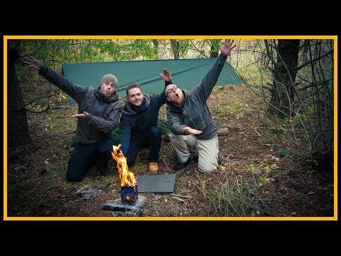 Mediengestalter im Wald - Die Outdoor Challenge - Bushcraft Survival Deutschland