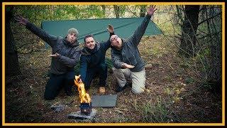 Bushcraft Anfänger mit uns unterwegs - Die Outdoor Challenge - Bushcraft Survival Deutschland