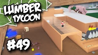 Lumber Tycoon 2 #49 - HUGE GLASS TUNNEL (Roblox Lumber Tycoon)