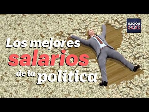 Estos son los mejores salarios de la política mexicana