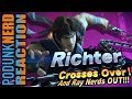 watch he video of Simon AND Richter Belmont Smash Bros Reveal Reaction