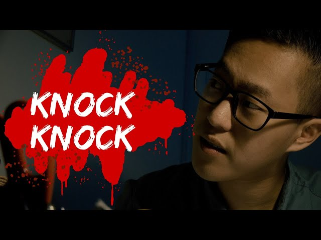 KNOCK KNOCK   Horror short film