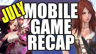 My Top Mobile Gacha Games For July 2019!