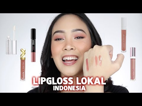 BATTLE / TOP 5 LIP GLOSS LOKAL INDONESIA - Almiranti Fira