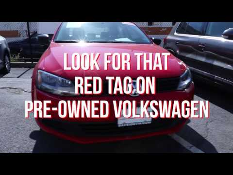 Shop the Red Tag Sales Event this September at Bayside Volkswagen!