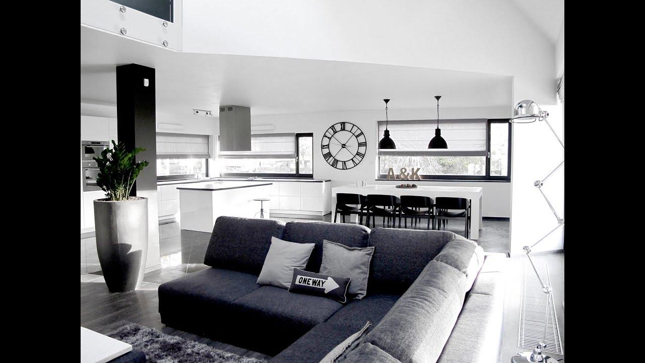 szybkie metamorfozy odc 49 salon czarno na bia ym program wn trzarski youtube. Black Bedroom Furniture Sets. Home Design Ideas