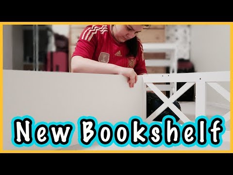 New Bookshelf + Rearranging Furniture | Spring Cleaning Part 2 | June 2018