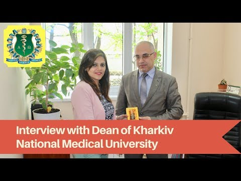Exclusive interview of Dean of Kharkiv National Medical University telling why Study MBBS abroad