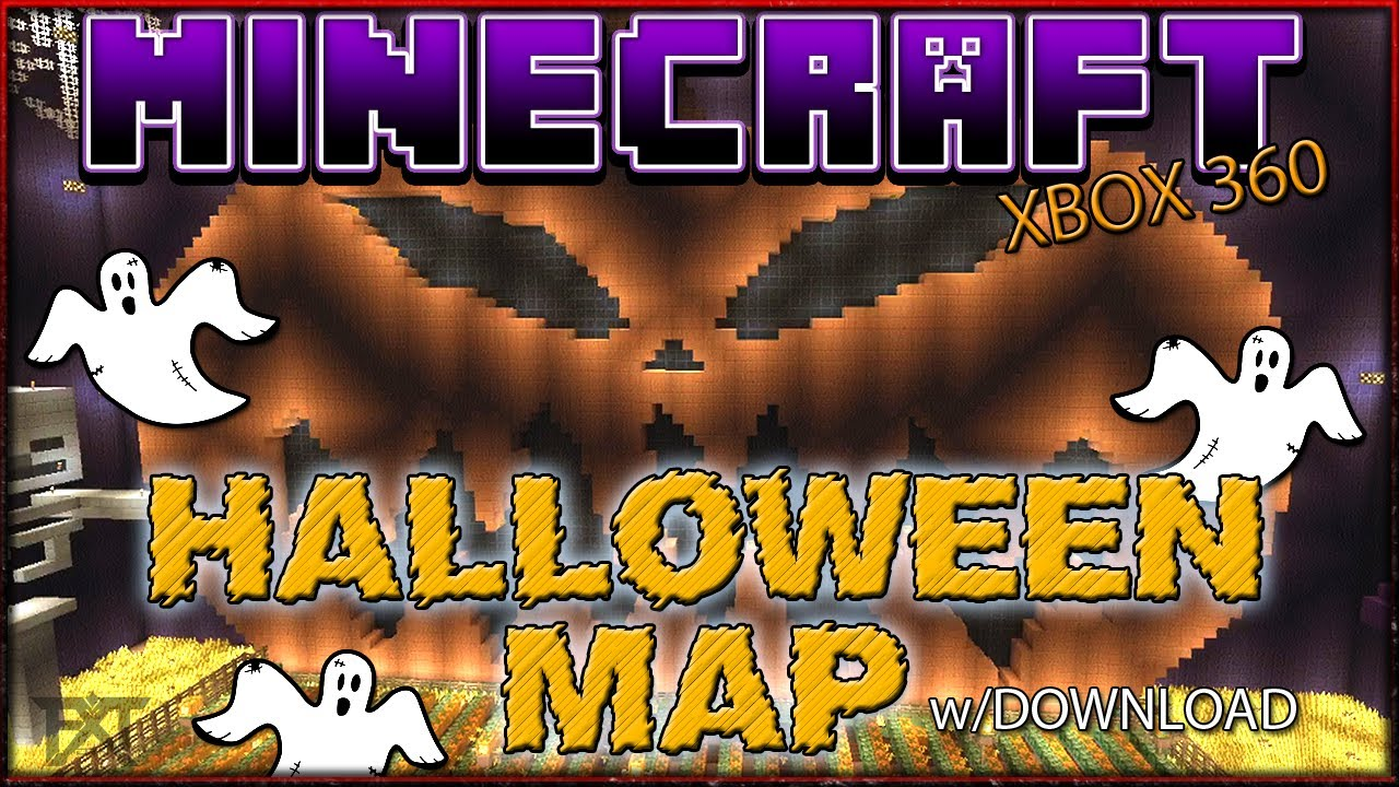 minecraft xbox 360 halloween map w dl - Halloween Xbox 360