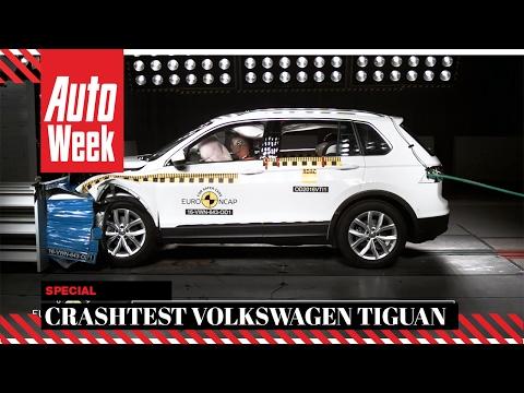 Volkswagen Tiguan Crashtest Euro NCAP - AutoWeek