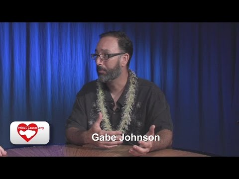 Maui Causes 37 Gabe Johnson  County Council Candidate 2016