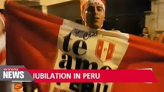 Peru declares public holiday after first World Cup qualification in 36 years