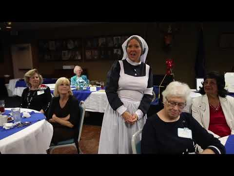 GFWC Woman's Club of Ocala - Dee Collier portrays Florence Nightingale
