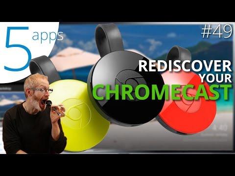 5 essential Chromecast apps