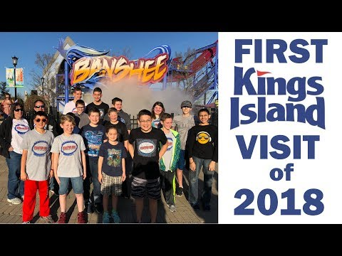 First Kings Island Visit of 2018