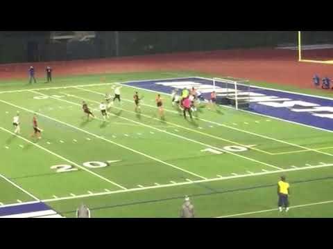 Camden's Mercedes Currie scores second Blue Devils goal