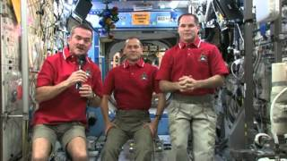 Astronauts Wish Earth a Happy New Year | Video
