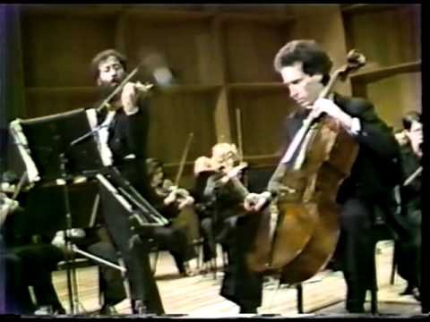 Paul Rosenthal & Nathaniel Rosen perform Brahms Double Concerto