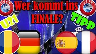 U21 Europameisterschaft HALBFINALE PROGNOSE + TIPP / Deutschland-Rumänien + Spanien-Frankreich