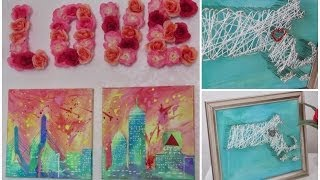 Diy Room Decor! Wall Artwork! Fun & Easy To Create!