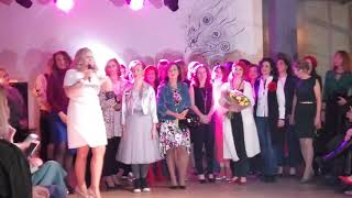 """Весна в ноябре"""" - само шоу! Красавицы на подиуме!!!! Вся правда, Фибоначчи лофт, Москва. Прое"""