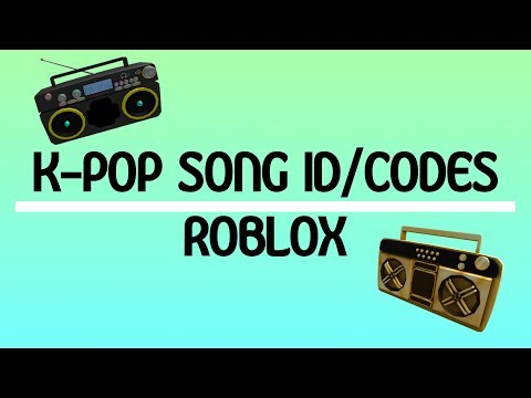 KPOP (BTS) SONG ID/CODES | ROBLOX pt. 1
