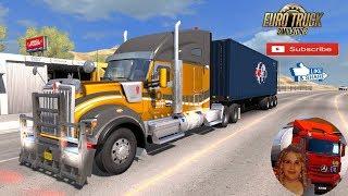 American Truck Simulator (1.34) Kenworth W990 v1.0 by Frank Peru 1.34x DLC New Mexico + DLC's & Mods
