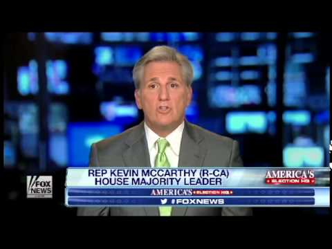 More Soggy White Bread from Rep. McCarthy