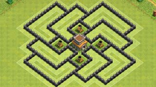 NEW* Th8 Ultimate Base | Best Th8 Base Farming| CocBase ADM