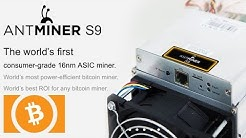 Bitmain Antminer S9 13.5TH's Bitcoin / Bitcoin Cash Miner - Available Pre-Order | Is It Worth It?