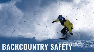 Backcountry Safety On A Snowboard
