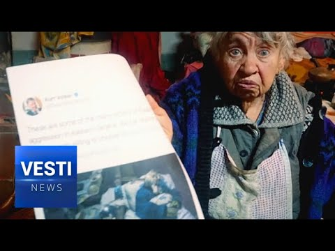 "Lying Western Media Has No Shame: Vesti Asks Victim of ""Russians"" Who Really Bombed Her House"