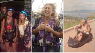 Skyline Rotorua Vlog | Skyswing, Ziplining, Gondola & Luge! Thumbnail