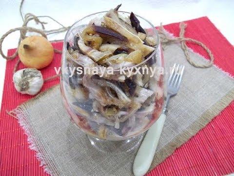 вкусные баклажаны с пошаговым фото