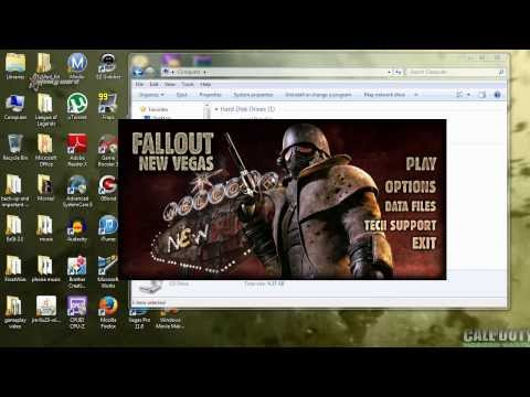 How To Download/Install Fallout New Vegas (With DLCS) On Your PC For FREE!!!