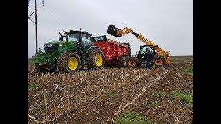 Je vous emmène épandre des boues d'épuration 6250R & Deguillaume F23.2 & JCB AGRIPRO