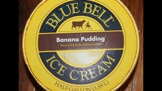 Blue Bell: Banana Pudding Review