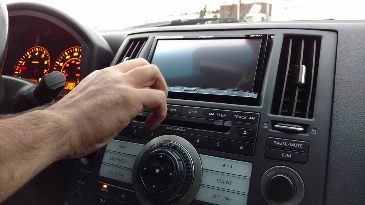 2004 infiniti fx35 custom radio install [ 1280 x 720 Pixel ]