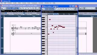 Cubase SX 3 Tutorial   Lesson 31 Score Editor Part