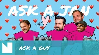 Ask a Guy #12: Jaloezie, klaarkomen en alcohol