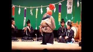 岩国行波の神舞保存会 荒霊豊鎮(岩国民俗芸能まつり) (11/12) (2010/08/29)