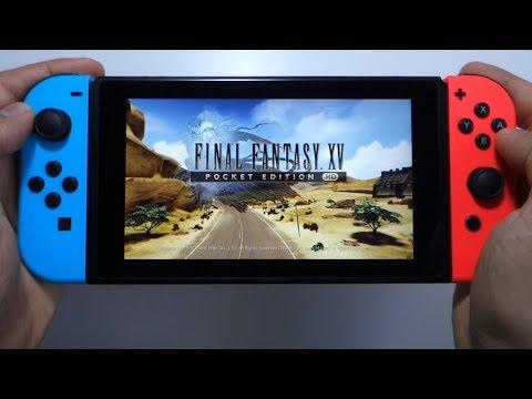final fantasy xv pocket edition nintendo switch price