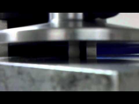 Compression test, bone cement cylinder