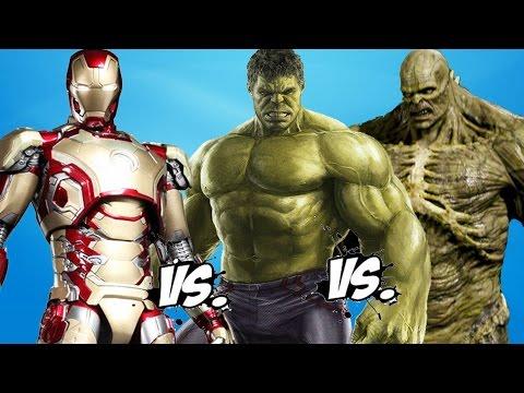 IRON MAN vs HULK vs ABOMINATION - Epic...