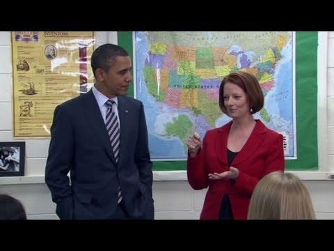 CNN: Obama Jokes With Australian PM About Vegemite