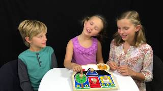 Learn English Colors! Shapes! Puzzles with Sign Post Kids!
