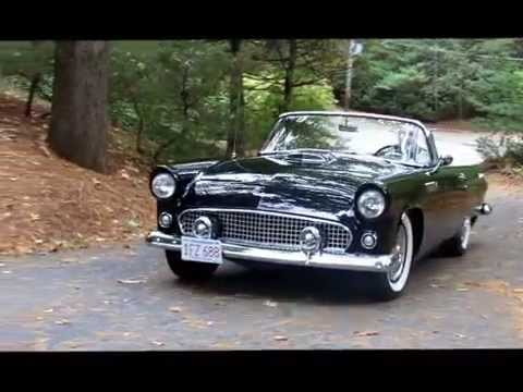 1956 ford thunderbird convertible for sale youtube. Black Bedroom Furniture Sets. Home Design Ideas
